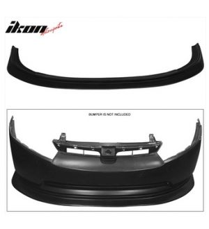 Ikon Motorsports Fits 2006 - 2008 Honda Civic FA5 4Dr Sedan Ikon Aero DP Front Lip Bumper Splitter