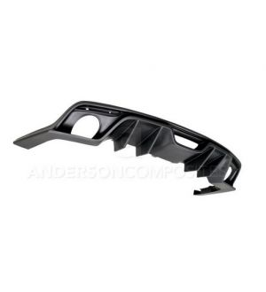 Anderson Composites Type-AR Fiberglass Rear Valance - Ford Mustang 2015-2017 Premium Model Only