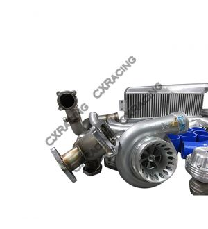 CX Racing Twin Turbo Kit For 79-93 Ford FoxBody Mustang 5.0L Dual GT35 900 HP