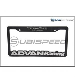 Advan Racing License Plate Frame - Universal