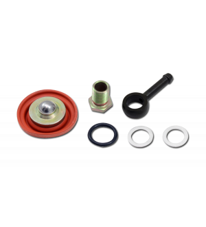AEM Adjustable Fuel Pressure Regulator Barb Fitting -6 (9/16in-18) to 7mm (Replacement Part)