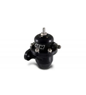 AEM 94-01 Acura Integra / 90-93 Honda Accord / 92-95 Honda Civic / 99-00 Honda Civic Black Adjustable Fuel Pressure Regulator