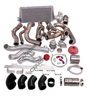 CX Racing Turbo Intercooler Manifold Kit For 82-92 Chevrolet Camaro SBC Small Block
