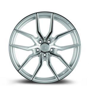 AODHAN WHEELS AFF1 Gloss Silver Machined Face 20x10.5 5x120 - Hub Bore 72.6 Offset 35