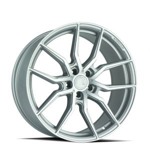 AODHAN WHEELS AFF1 Gloss Silver Machined Face 20x9 5x120 - Hub Bore 72.6 Offset 30