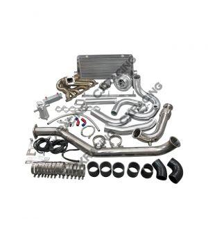 CX Racing Turbo Downpipe Intercooler Kit For 1993-2002 Toyota Supra MK4 2JZ-GTE Brand: CXRacing