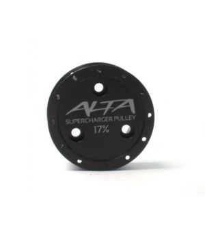 Alta Supercharger Pulley 17%
