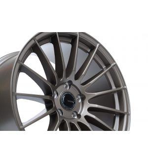 """Ambit RE02 5x100 18x9.5"""" +38mm Offset Matte Bronze Wheels"""