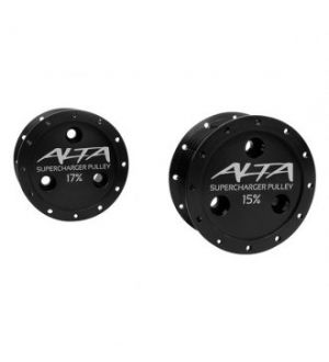 Alta Supercharger Pulley 15%