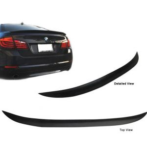 Ikon Motorsports 2010-2012 BMW F10 5 Series Performance Trunk Spoiler - Polyurethane