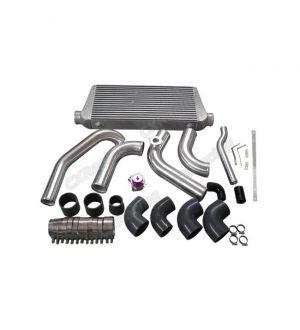 CX Racing Intercooler Piping Radiator Hard Pipe Kit For 1JZGTE VVTI 1JZ Swap 240SX S13 S14 Stock Turbo