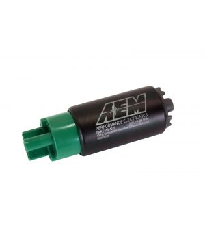 340lph E85-Compatible High Flow In-Tank Fuel Pump (65mm, Offset Inlet)