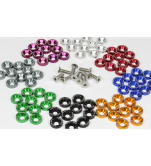 Rokblokz Anodized Aluminum Washer Kits