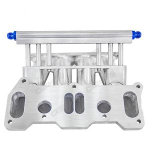 CX Racing Lower Intake Manifold For Cosmo 13B RE Rotary 6 Ports Fuel Rail