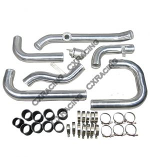 CX Racing Newly Intercooler Piping Kit + BOV For 88-00 Civic D D16 B16 B18
