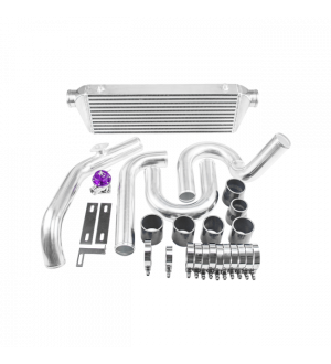 CX Racing Intercooler Kit For 92-00 Honda Civic with D15 D16, D-Series SOHC Engine.