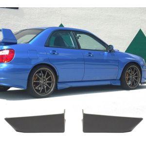 Ikon Motorsports 2002-2007 Subaru ImprezaJDM Front Side Strake Polyurethane 2 Pcs Unpainted