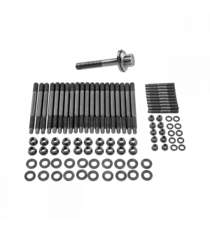 CX Racing Head Stud Bolt Kit + Crank Crankshaft Bolt for GM Chevy GEN IV LS9 LQ9 6.0L 6.2L Engine