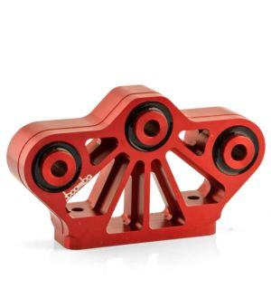 Boomba Racing 2011 + Mustang GT Transmission Mount - 70D Race Spec - Red Anodize