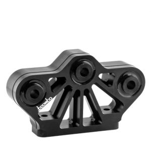 Boomba Racing 2011 + Mustang GT Transmission Mount - 60D Street Spec - Black Anodize