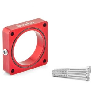 Boomba Racing Ford Focus RS 2.0/2.3 Throttle Body Spacer-Red