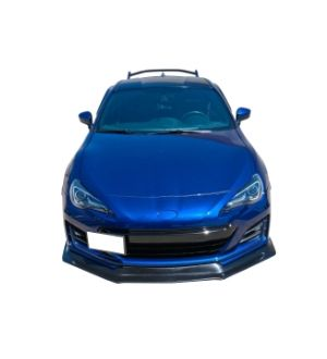 Ikon Motorsports Fits 17-18 Subaru BRZ Front Bumper Lip Spoiler Ikon Style PU Urethane