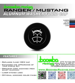 Boomba Racing Ford Ranger 2.3 Ecoboost Washer Cap - Red Anodize