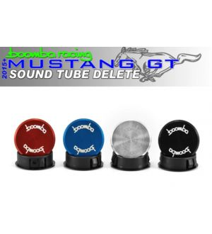 Boomba Racing Ford Mustang GT Sound Tube Delete - Red Anodize