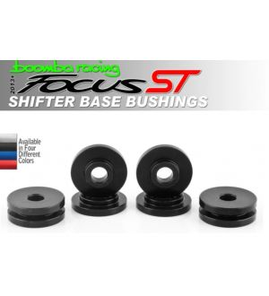 Boomba Racing Ford Focus ST Solid Shifter Base Bushings - Red Anodize