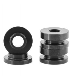 Boomba Racing Ford Focus ST Transmission Bracket Bushings - Black Anodize