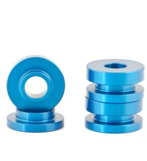 Boomba Racing Ford Focus ST Transmission Bracket Bushings - Blue Anodize