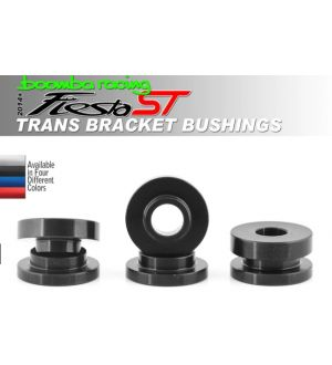 Boomba Racing Ford Fiesta ST Transmission Bracket Bushings - Black Anodize
