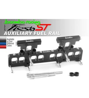 Boomba Racing Ford Fiesta ST Aux Fuel Kit - Natural Aluminum