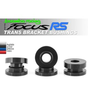 Boomba Racing Ford Focus RS Transmission Bracket Bushings - Black Anodize