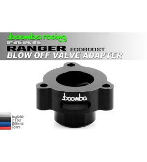 Boomba Racing Ford Ranger 2.3 Ecoboost BOV Adapter - Black Anodize