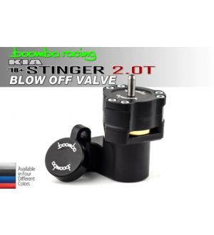 Boomba Racing Kia Stinger 2.0T Blow Off Valve - Blue Anodize