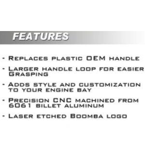 Boomba Racing Kia Stinger 2.0T Dip Stick Handle - Blue Anodize