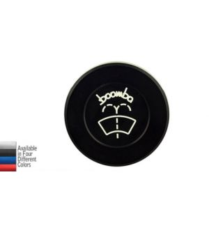 Boomba Racing 2015+Subaru WRX Windshield Washer Cap - Black Anodize
