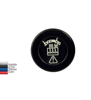 Boomba Racing 2015+Subaru WRX Coolant Overflow Reservoir Cap - Black Anodize