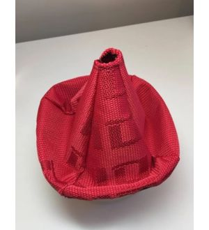 BilletWorkz Universal Shift Boot Bride Red Style - Stitching N/A - With Matching Ebrake for Ebrake-2005-2009-Legacy-Outback