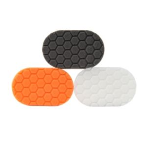 Chemical Guys Hex-Logic Hand Polishing Applicator Pads - 3in x 6in x 1in - 3 Pack (P12)