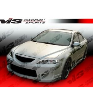 VIS Racing 2003-2007 Mazda 6 4Dr Techno R 2 Front Bumper