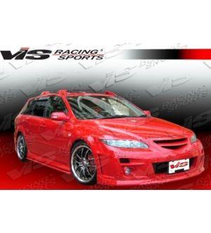 VIS Racing 2003-2007 Mazda 6 4Dr A Spec Front Bumper