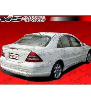 VIS Racing 2001-2007 Mercedes C- Class W203 4Dr Laser 1 Rear Bumper Single Exh.