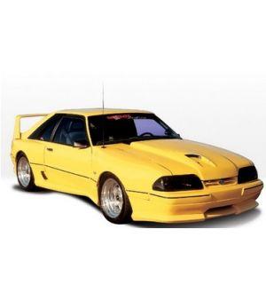 VIS Racing 1987-1993 Ford Mustang Lx Dominator Hood Scoop Use W/ Hood Overlay