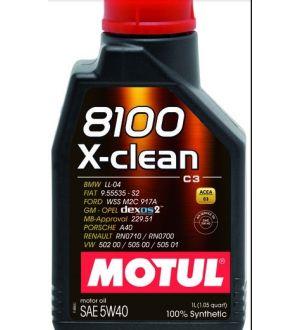 Motul 8100 X-clean 5W-40 - 1L