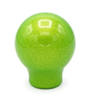 BilletWorkz Candy Green Weighted Shift Knob Subaru BRZ Auto (10x1.25mm)Sphere