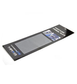 NRG Innovations Carbon Fiber Sheet - Silver 23.5