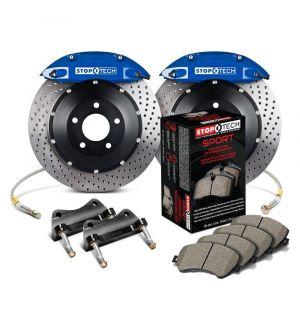 StopTech Big Brake Kit 2 Piece Rotor, Rear 2 Box 1995-1998 Porsche - 83.780.0046.22