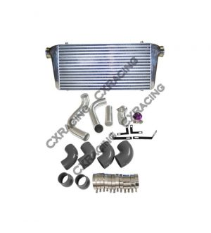 CX Racing Intercooler Piping + BOV Kit For Nissan 240SX S13 S14 RB26 RB26DETT Single Turbo